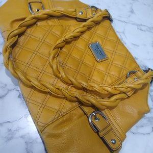 RELIC  Yellow Satchel Handbag